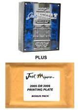 2013 LEAF JUST VAULT BASEBALL BOX with BONUS PACK