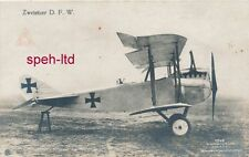 Originale Sanke Karte /  Flugzeug, .. Zweisitzer D.F.W.