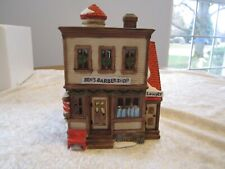 Dept 56 - Ben's Barbershop New England Village