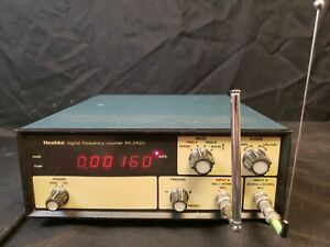 Vintage Heathkit IM-2420 Digital Frequency Counter HAM Radio Electronic Test