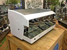 WEGA ATLAS 3 GROUP WHITE ESPRESSO COFFEE MACHINE CAFE CART MOBILE BARISTA LATTE