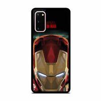 Iron Man Marvel Comics Superhero Phone Case Cover for Samsung Galaxy Note 10+