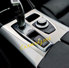 US Stock For Bmw X5 E70 2007-2009 Stainless Interior Gear box Panel Cover Trim