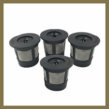 4 Keurig 1.0 Reusable Refillable Single Coffee Replacement Mesh Filter Pod K-Cup