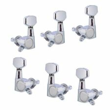 Guitar String Tuning Pegs Tuners Machine Heads Keys Chrome 3X3