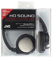 Victor JVC Head-band Foldable Headphones HA-S500-Z Gunmetallic