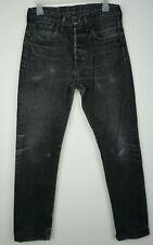 Women`s Levi`s 501 Tapered Leg Mom Boyfriend Jeans UK 8-10 / W29 L30