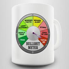 Bullsh#t Meter Novelty Gift Mug - Show your awareness to bullsh#t