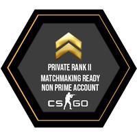 ✔ CSGO Fresh NON-Prime Accounts | Private Rank 2 ✔ | Quick delivery ✔