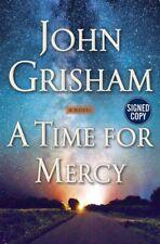 John Grisham a Time for Mercy Signed Book Jake Brigance Legal Thriller Lawyer