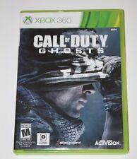 Call of Duty: Ghosts (Microsoft Xbox 360, 2013) Very Good