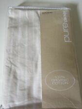 DKNY Pure Comfort EURO SHAM Cloud STRIPE 100% Organic Cotton New IOP 2 Available
