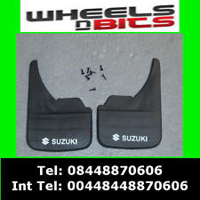 Suzuki Logo Universal Car Mudflaps Front Rear Swift SX4 Vitara Mud Flap Guard