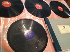 "TOSCANINI ""Symphony No 1 In C Major"" Op.21 (Beethoven) 4x12"" 78rpm c1937 MINT-"