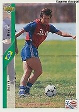 N°054 DUNGA BRAZIL TRADING CARDS UPPER DECK WORLD CUP USA 1994