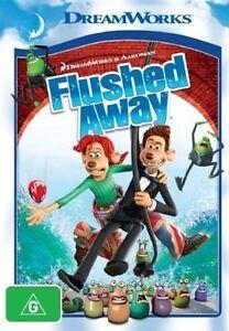 Flushed Away (DVD, 2008), NEW SEALED AUSTRALIAN RELEASE REGION 4 lot 575