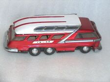 Vintage ME083 Battery Metal Tin Toy Bus, made in China, 1960-70, for spare parts