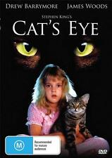CAT'S EYE - DREW BARRYMORE - STEPHEN KING -  NEW & SEALED DVD - FREE LOCAL POST
