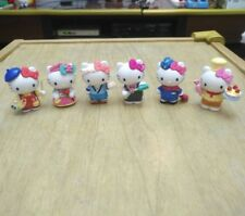 6pcs Hello kitty Anime action figure collection PVC Toy Gift Cake top New in Box