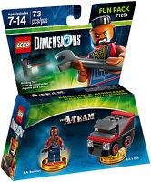 LEGO DIMENSION 71251 FUN PACK A-TEAM B.A. BARACUS B.A.'s VAN pronta consegna new