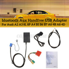 USB MP3 Interface Adapter bluetooth Aux Cable  For Audi A3 8L 8P A4 B5-B7