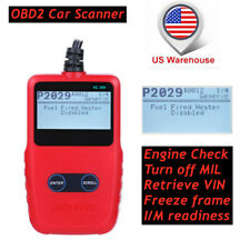 Automotive Scanner OBDII Car Engine Check Fault Code Reader Diagnostic Tool