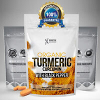 Turmeric Curcumin PLUS Black Pepper Pills Tumeric Tablets Not Capsules - RRP £20