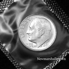 1961 (P) Roosevelt Mint Dime from U.S. Mint Set in Mint Cellephane