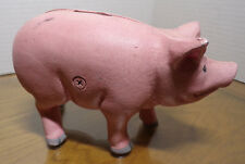 Cast Iron ~ Pig ~ Piggy Bank ~ Midwest Importers Of Cannon Falls, Inc ~ Taiwan