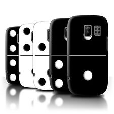 STUFF4 Back Case/Cover/Skin for Nokia Asha 302/Dominoes/Dominos