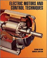 Electric Motors and Control Techniques, , Gottlieb, Irving, Very Good, 1994-02-2