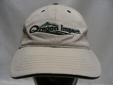 Oregon Impact - Beis - Ajustable Tira Trasera Gorra Sombrero