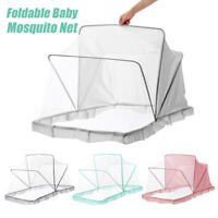 Folding Mosquito Insect Tent Child Baby Bed Crib Sleeping Cover Net