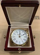 Howard Miller 645-443 Bailey Mantel/Mantle/Shelf Desk Clock - Rosewood