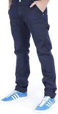Carhartt WIP Lincoln Single Knee Pant Anderson - Pantalone in cotone Blu