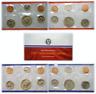 1987 10 Coin P&D United States Mint Uncirculated Set OGP W/COA