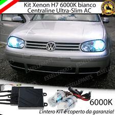 KIT XENON SLIM XENO H7 AC 6000 K 35W PER VW GOLF 4 IV ULTRALUMINOSI CON GARANZIA
