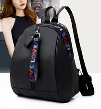 Women Waterproof Anti-Theft Backpack Rucksack Satchel Travel Shoulder Bag Black
