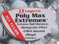 Illegal golf product Poly Max Extremes for Ping G400 SFT Driver