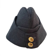 Royal Air Force (RAF) Side Cap hat WW2 style hat Kings crown Button