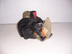 1999 Star Wars Episode 1 Phantom Menace Darth Maul on Sith Speeder Coin Bank