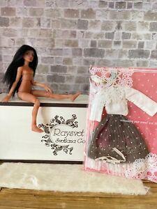 1/12 amazing artist bjd Raysvet dolls black hair full set ooak