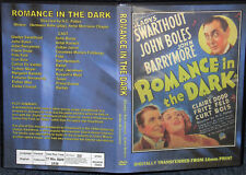 ROMANCE IN THE DARK DVD 1938 Gladys Swarthout John Boles John Barrymore  rare