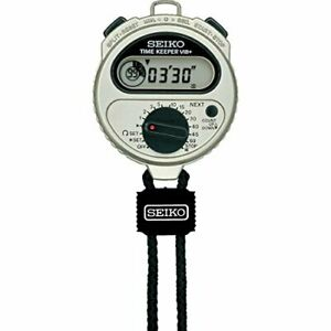 Seiko Timekeeper Bib SSBJ023 Time measurement Stopwatch Japan
