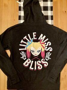 WWE Little Miss Bliss Women's Medium Zip Up Hoodie