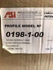 ASI 0198-1-00 American Specialties Hand Dryer, White (Fast Shipping)