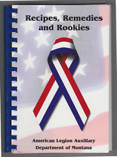 American Legion, MT; Recipes, Remedies, Rookies Cookbook 2002 Montana