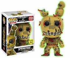 Funko Springtrap ( Gitd ) #110 Five Nights At Freddy's Pop! Vinyl Figur Fnaf