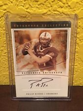 04 Fleer Flair Philip Rivers NFL ROOKIE AUTO #069/350 2004 LOS ANGELES CHARGERS