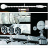 Film 2001 A Space Odissey USS Discovery XD-1 Spaceship 60cm 3D Paper Model Ki sz
